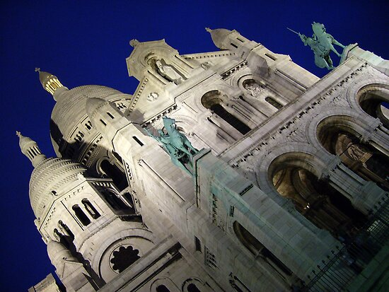 Basilique du Sacré-Cœur, Paris, France by cupofmanatee