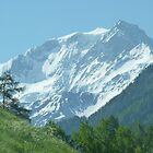 """White Mountain""  Champoussin, Switzerland by Anita  Fletcher"