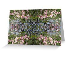 Kaleidoscope - Tree Series Blossom Greeting Card
