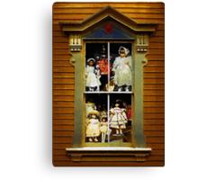 Dollhouse Gothic Canvas Print