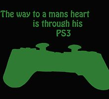 The Way To A Mans Heart . . . . by rhian mountjoy