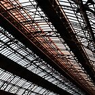 Roof of railway station by qiiip