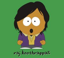 South Park & Big Bang Theory: Raj Koothrappal by D4RK0