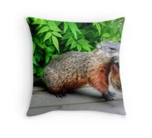 MOVING DAY!!! Throw Pillow