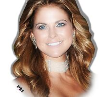 Princess Madeleine of Sweden by Yapsalot