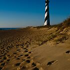 Sunrise At Cape Hatteras Lighthouse by Joe Elliott