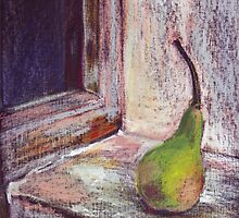 a green pear... by Sorina Williams