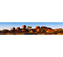 Devil's Marbles Panorama Photographic Print