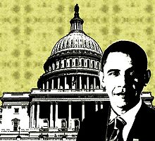 Barack Hussein Obama-Capitol Hill by OTIS PORRITT