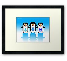 PENGUINS  1 (ART) Framed Print
