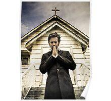 Baltar Repents [Preacher] James Callis Poster