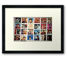Elvis Collection............ Framed Print