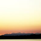 Olympic Mountains by Joshua Greiner