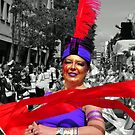 Scarlet Ribbon - Nottinghill Carnival by Victoria limerick