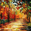 FALL AURA - LEONID AFREMOV by Leonid  Afremov