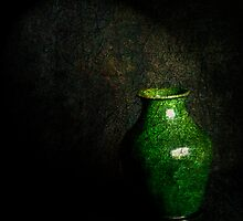 Green grunge by Jan Clarke