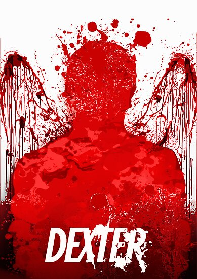 Dexter minimal poster by Zoe Toseland