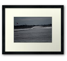 Against the Wind Framed Print