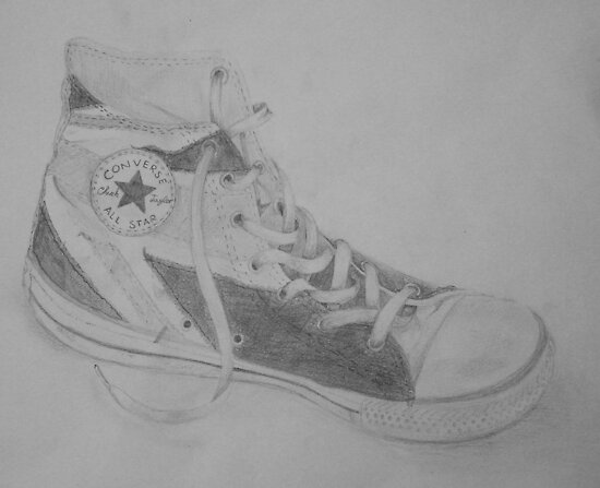 Union Jack Converse by Kate Craft