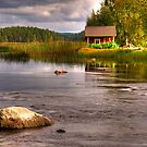 Trout river by ilpo laurila