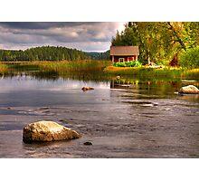 Trout river Photographic Print