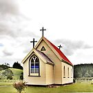 St Mary&#x27;s Anglican Church, Mamaranui, NZ. by Lynne Haselden