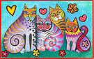 Fanciful fantasy felines by Karin Zeller
