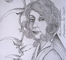 Portrait of....Margaret Mee by LisaMM