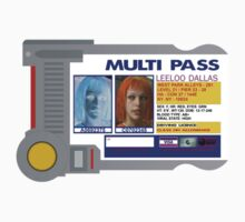 Leeloo Dallas Multipass by Adam Angold