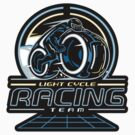 Light Cycle Racing - STICKER by WinterArtwork