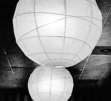 Paper Lampshades II by Bob Wall