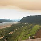 Fire over the Gorge by Cayannagirl