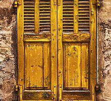 The Yellow Shutters by jean-louis bouzou