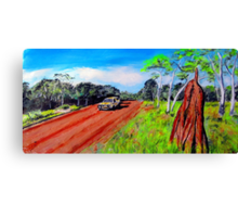 ON THE ROAD AGAIN .... Canvas Print