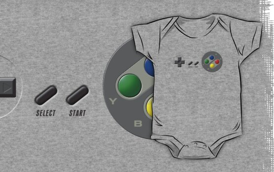 SNES Controller by TGIGreeny