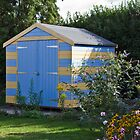 My 'Beach Hut' shed! by BizziLizzy