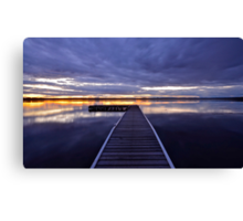 Peaceful Times. 11-9-11 (9-11) sunset Canvas Print