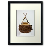 Bound & Unified In Contrast Framed Print