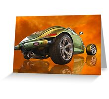 Plymouth Prowler Greeting Card