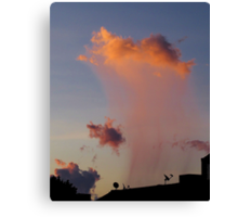 Virga at Sunrise Canvas Print