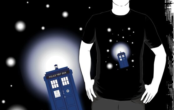 TARDIS In Space by sophiedoodle