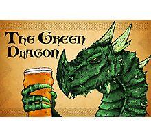 The Green Dragon Photographic Print