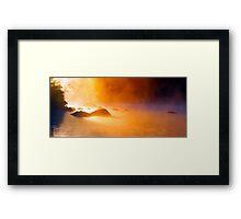 9-11-11 Lake Ozonia Sunrise Framed Print