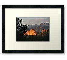 Colorado Mornin' - Garden of the Gods Framed Print