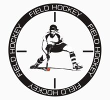 Field Hockey 2 colour text by John Livesey