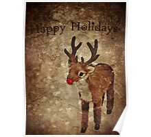 Happy Holidays (Rudy Version) Poster