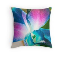 Mystical Orchid.  Throw Pillow