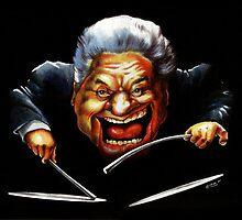 Tito Puente caricature by kiko