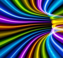 Rainbow Tunnel Bend by Alexandr Gnezdilov