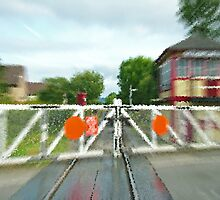 The Railway Crossing by cofiant